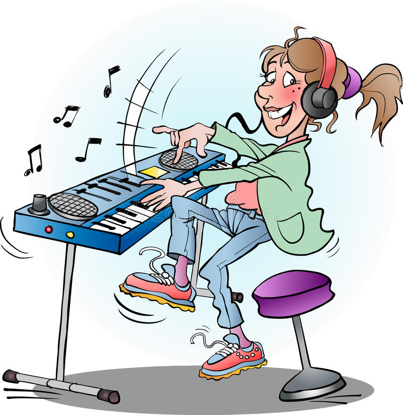 Cartoon Girl Playing Keyboard Stock Illustrations 205 Cartoon Girl Playing Keyboard Stock Illustrations Vectors Clipart Dreamstime