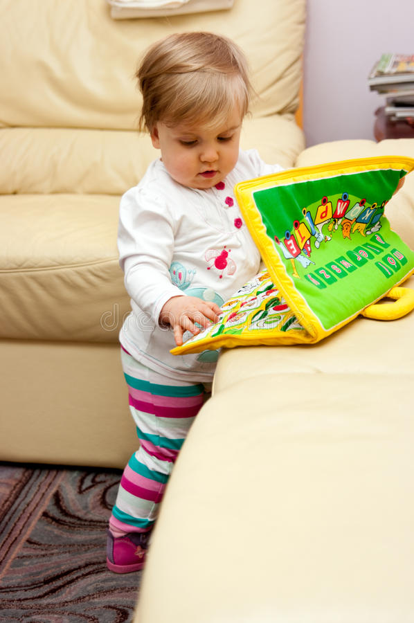 Download Girl playing with toys stock image. Image of child, playful - 27789621