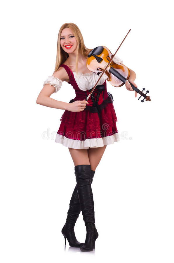 Download Girl playing violin stock photo. Image of instrument - 31601256