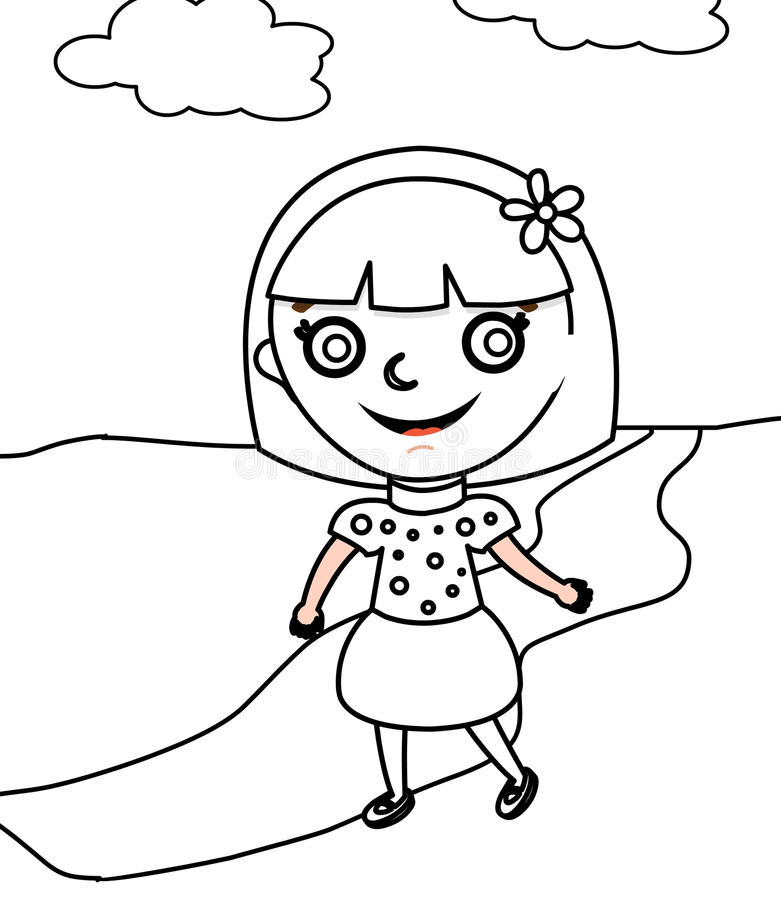 ribbon coloring download ribbon coloring page stock