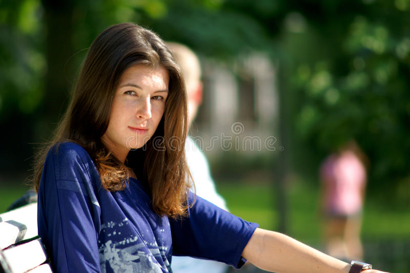 Download Girl portrait stock photo. Image of outdoor, person, portrait - 15016676