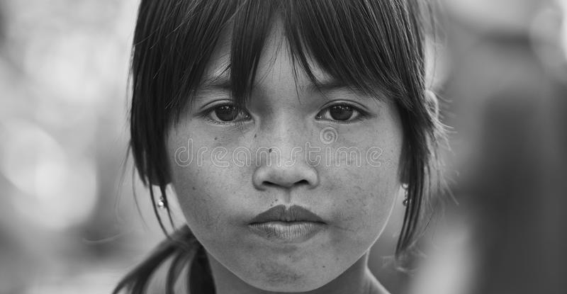 Girl portrait stock image