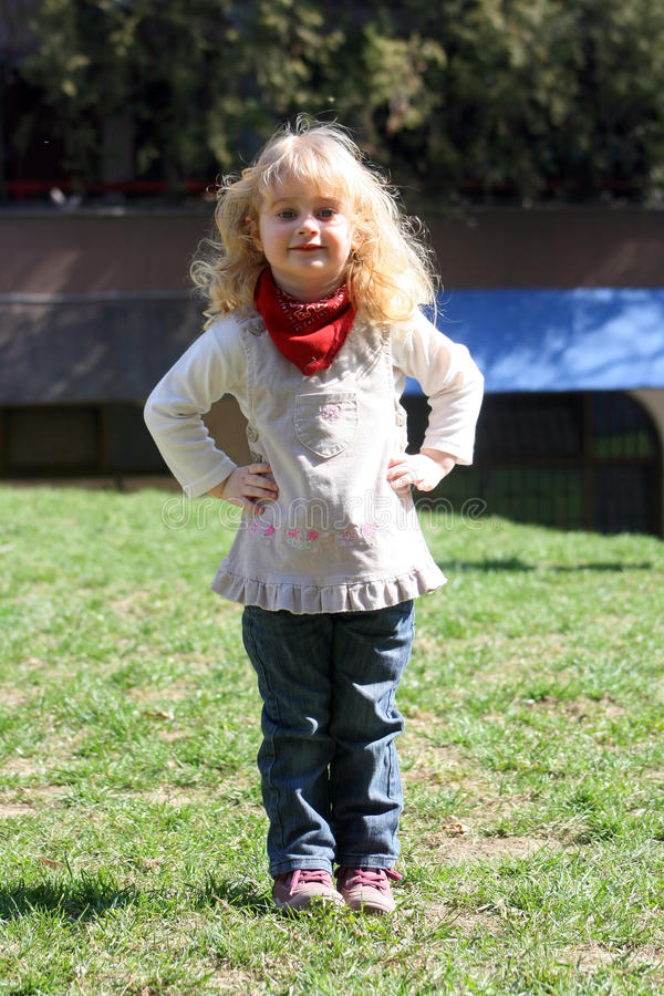 Download Girl posing stock photo. Image of child, cute, outdoor - 23900344