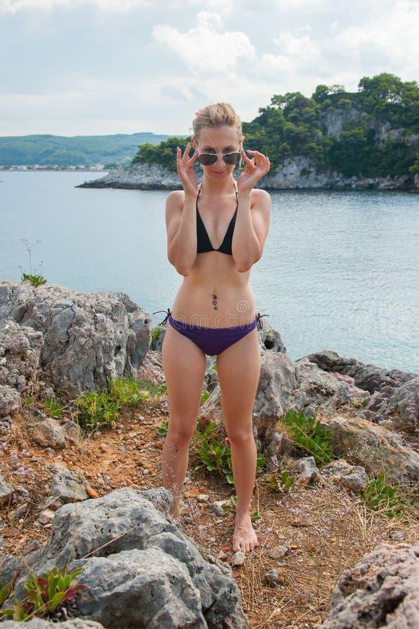 Free Girl Posing At Sea Stock Photo - 43839670