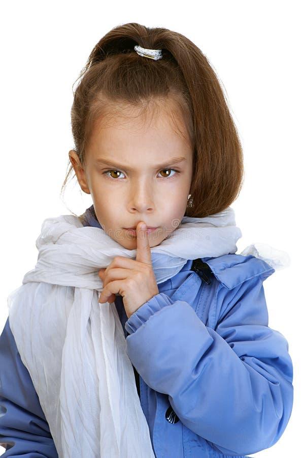 Download Girl-preschooler In Blue Jacket Stock Photo - Image: 25590752