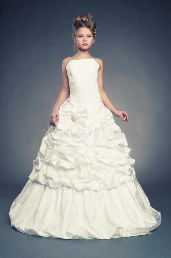 Download Girl Princess In White Ball Gown Stock Photo - Image of female, lifestyle: 28698368