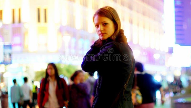 Girl, Purple, Snapshot, Fashion stock photography