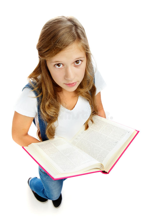 Download Girl reading stock photo. Image of attractive, education - 23868720