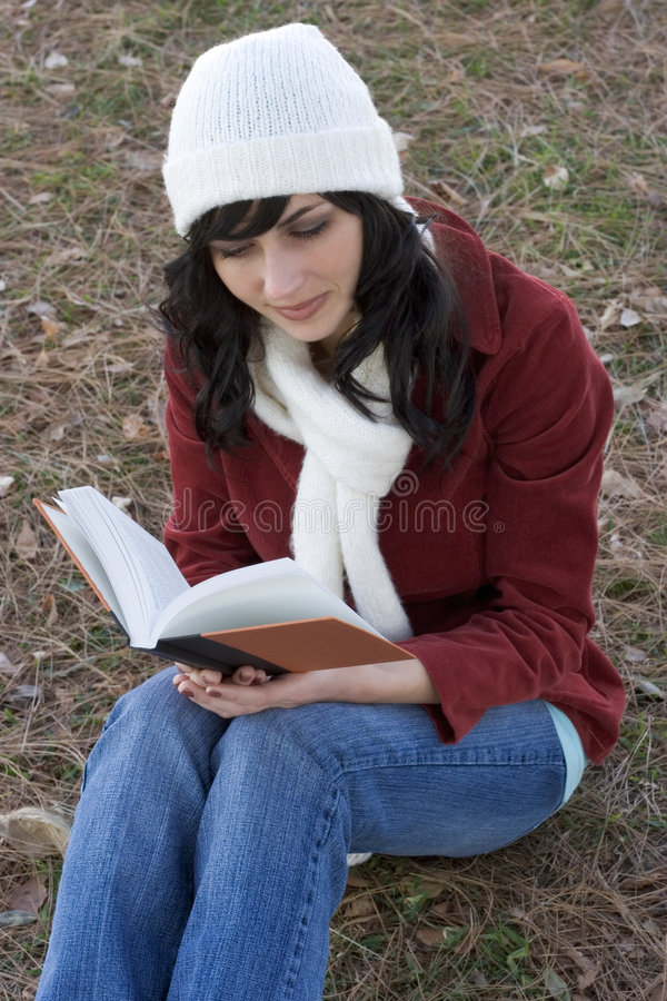 Download Girl Reading stock photo. Image of young, book, teen, teens - 459710