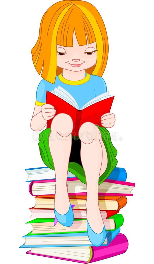 Download Girl Reading Book Royalty Free Stock Image - Image: 15311826