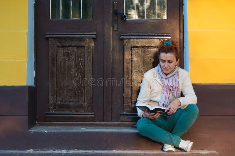 Girl Reading A Book Stock Photos