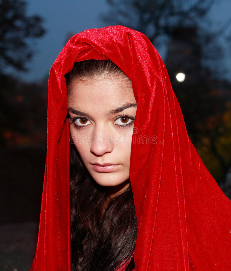 Download Girl In Red Robe Stock Images - Image: 7688994