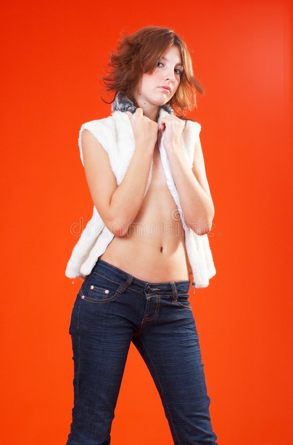 Download Girl Removing Top - 7 Stock Images - Image: 1445844