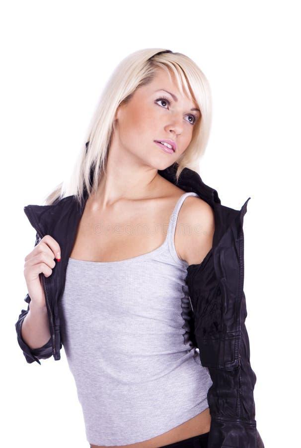 Girl rock chic stock photos