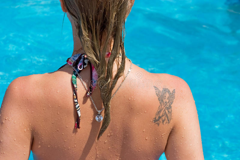 Download Girl's Back Stock Images - Image: 12214704