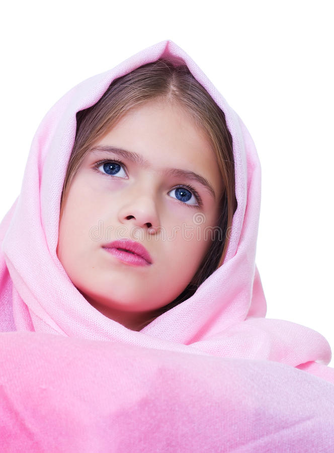 Girl's portrait. royalty free stock photography