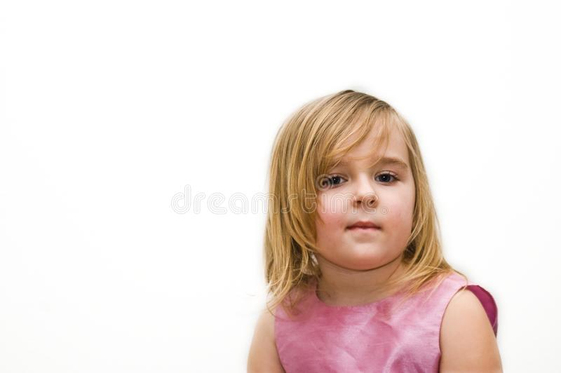 Download Girl's portrait stock photo. Image of dress, white, face - 8636956