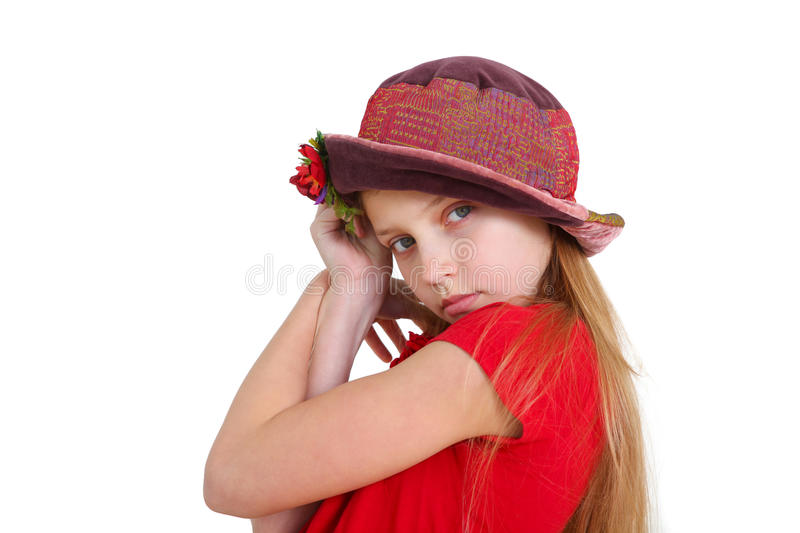 Girl's portrait stock images
