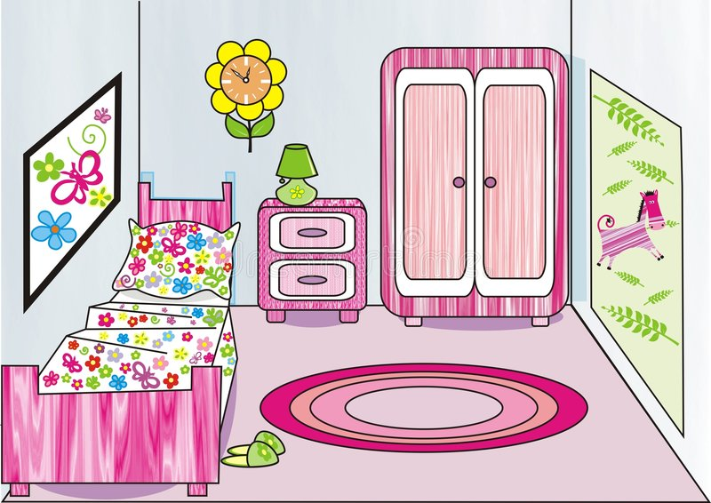 Girl S Room Royalty Free Stock Image