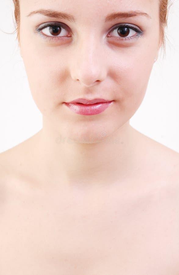 Girl in salon stock photo
