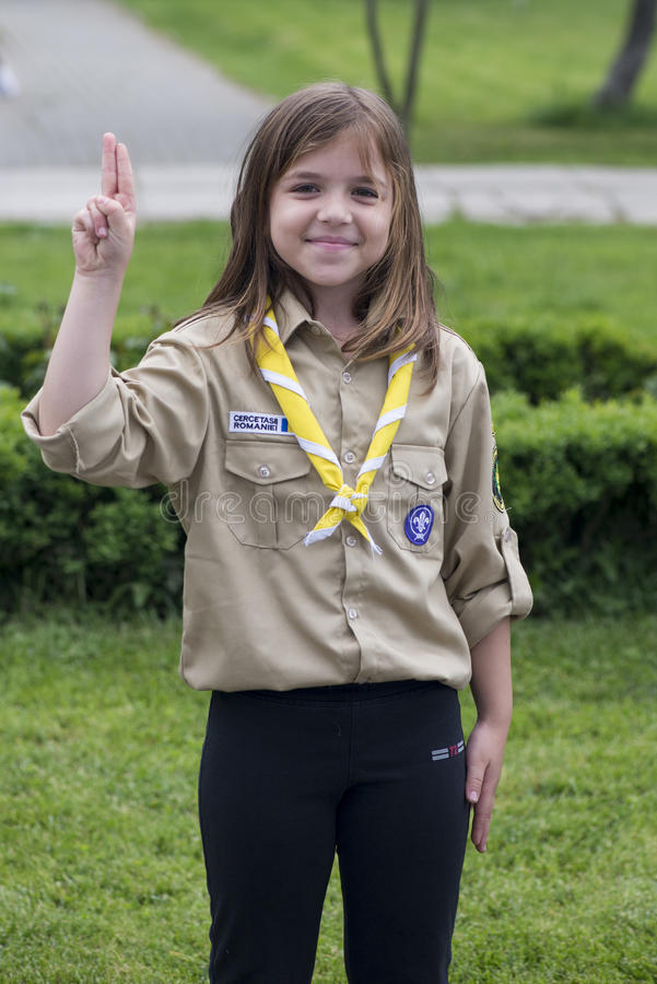 Free Girl Scout Stock Photography - 71467862