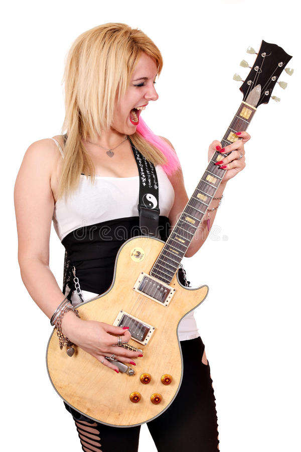 Download Girl scream stock photo. Image of happy, isolated, playing - 31285372