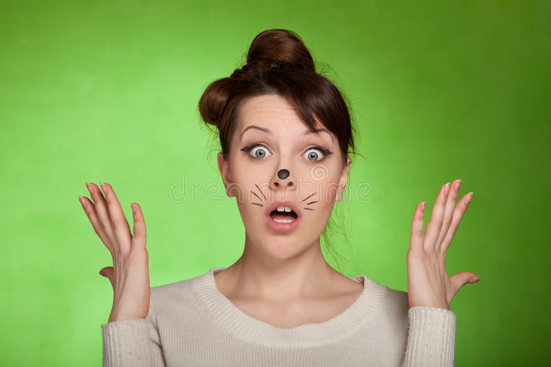 Download Girl Shocked What Is Happening Stock Photo - Image: 24237876