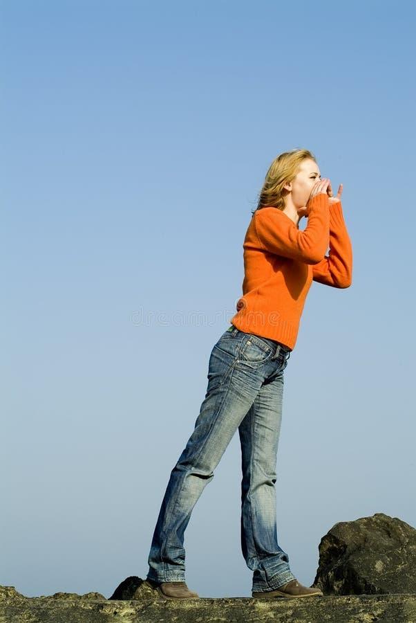 Download Girl Shouting Stock Photos - Image: 2312513