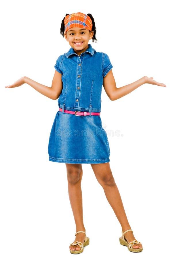 Free Girl Shrugging Stock Photography - 9031692