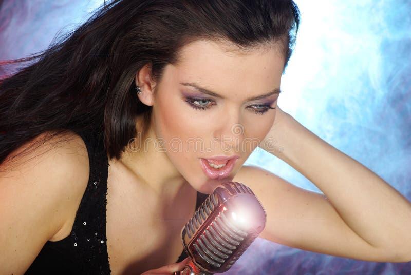 Download Girl Singing stock photo. Image of musician, hair, band - 8535604