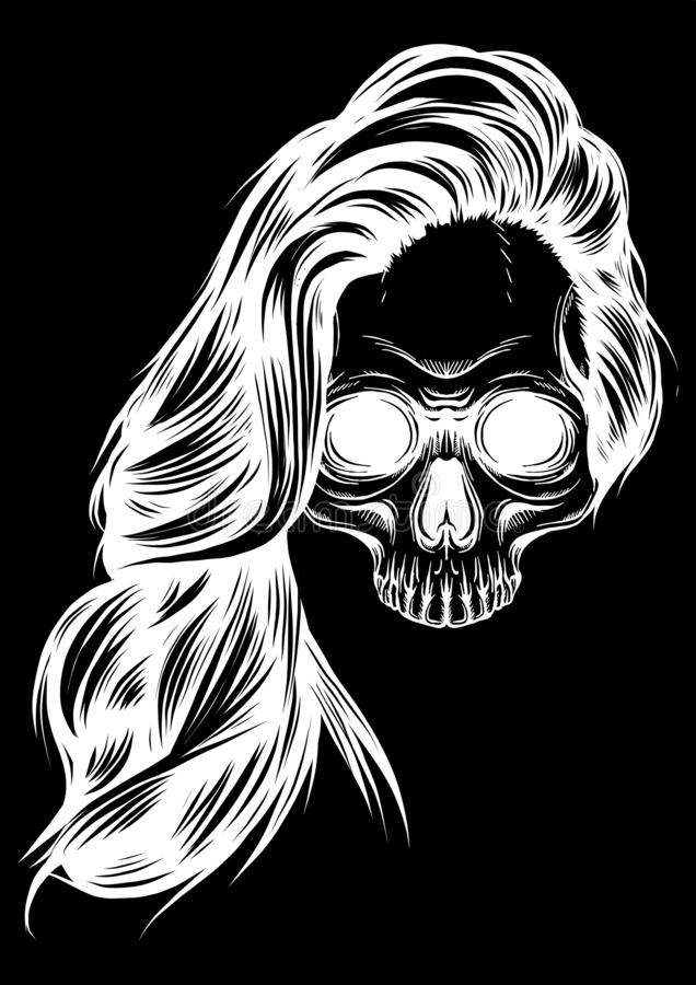 Santa Muerte Tattoo Stock Illustrations 62 Santa Muerte