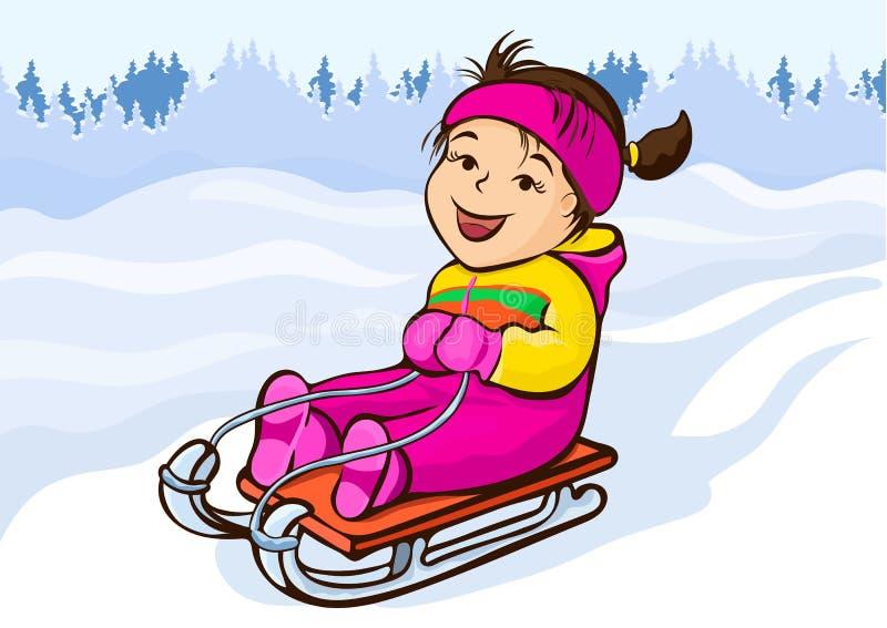 Sledding Cartoon Stock Illustrations 2 115 Sledding Cartoon Stock Illustrations Vectors Clipart Dreamstime