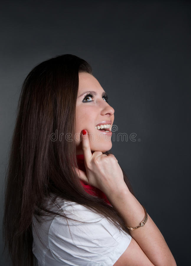 Download Girl smiles stock photo. Image of confident, cheerful - 18778956