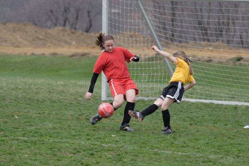 Download Girl at Soccer Field 21 stock image. Image of sport, grass - 2363153