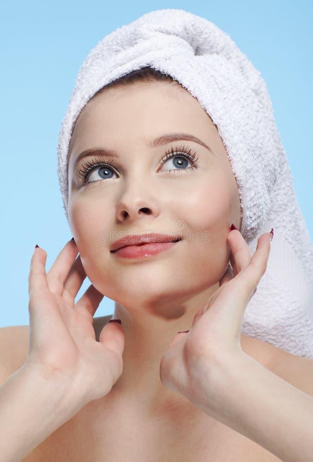 Download Girl spa στοκ εικόνες. εικόνα από θηλυκό, υγεία, έκφραση - 17056786
