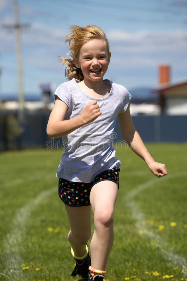 Download Girl In Sports Race Royalty Free Stock Images - Image: 17019159