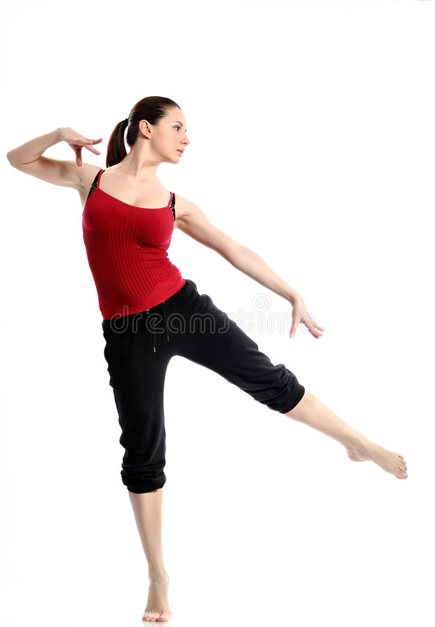 Download Girl In Sportswear Doing Sport Exercises Stock Photo - Image: 24731478