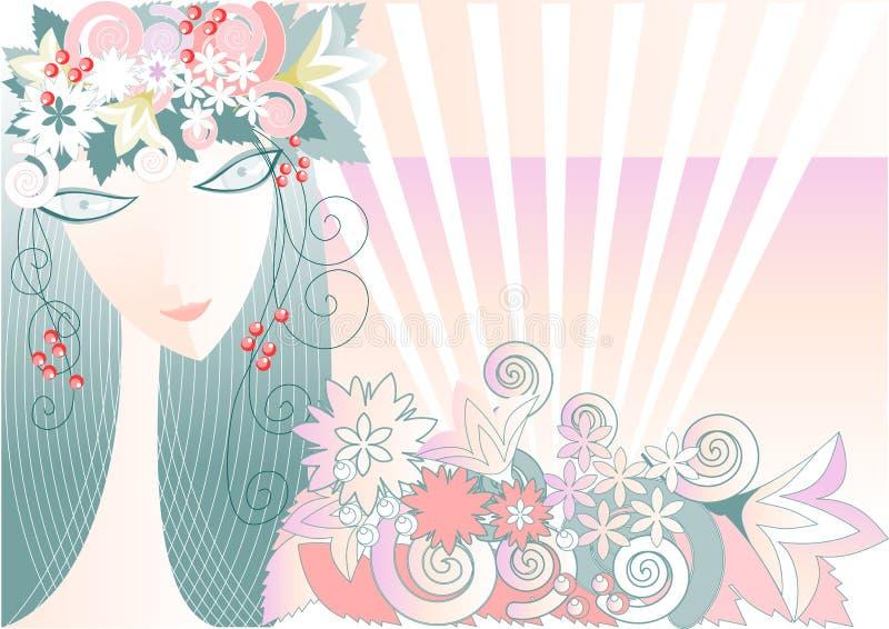 Girl - Spring Stock Image