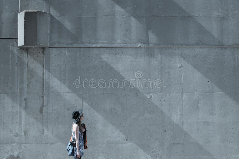 Girl Standing Near The Outside Building During Daytime Free Public Domain Cc0 Image