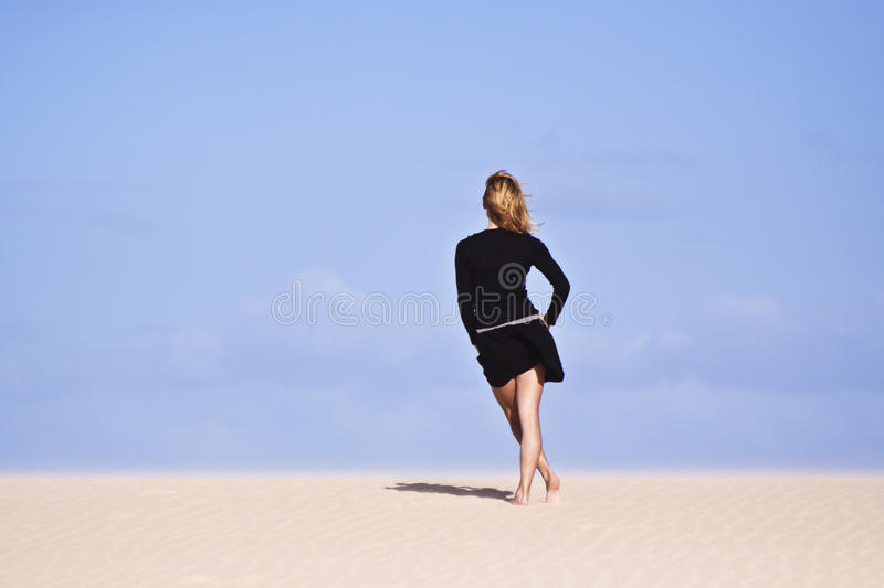 Download Girl Staring In The Distance Stock Photo - Image: 18659374