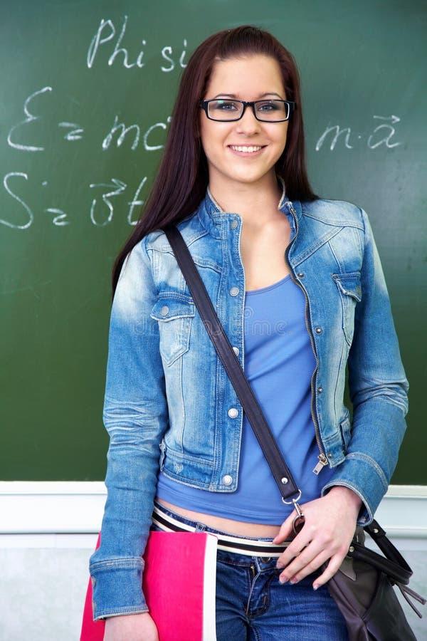 Girl student royalty free stock photo