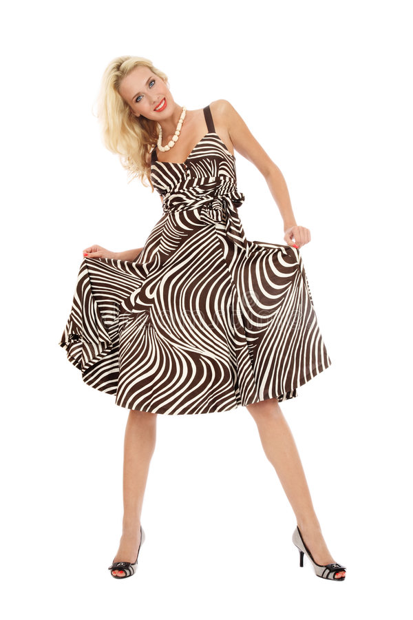 Download Girl in stylish dress stock photo. Image of stilettos - 6541254