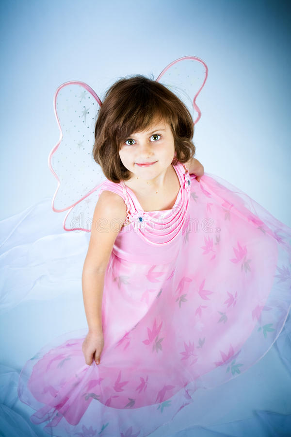 Download Girl In A Suit Of The Fairy Stock Photo - Image: 13525426