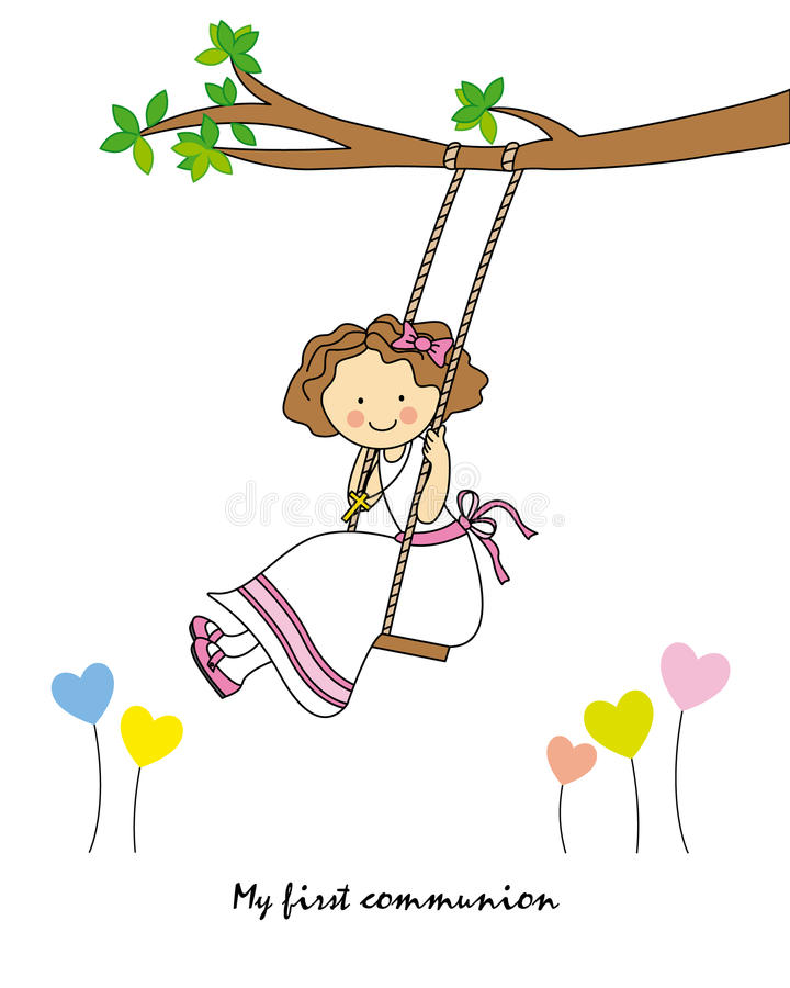 Free Girl Swinging Royalty Free Stock Images - 41676429