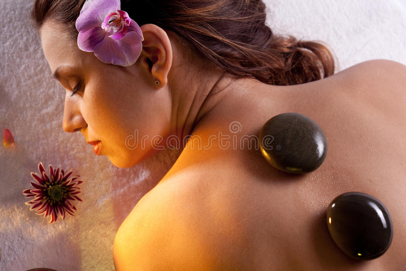 Download Girl Takes The Spa Treatments Stock Photo - Image: 18555006