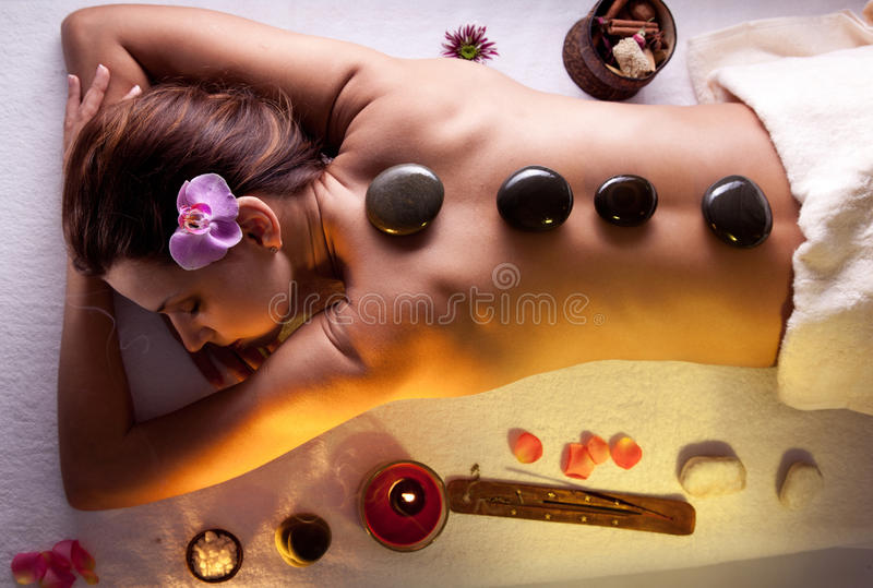 Download Girl Takes The Spa Treatments Stock Photo - Image: 25158072
