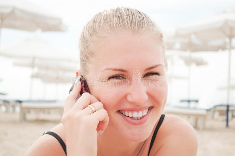Download Girl talking on the phone stock photo. Image of conversation - 21288980