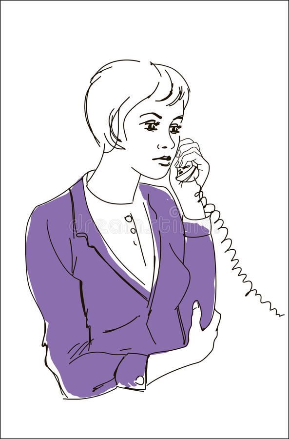 Download Girl Talking On The Phone Stock Images - Image: 23397384