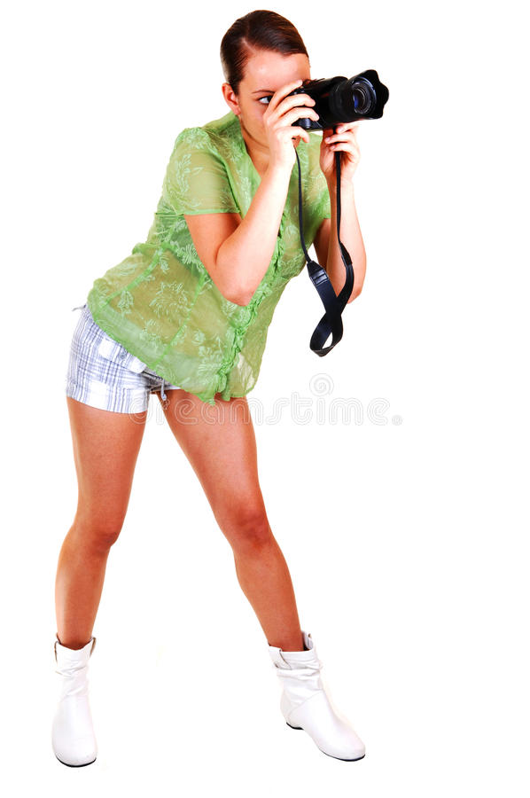 Girl Talking Pictures Stock Image