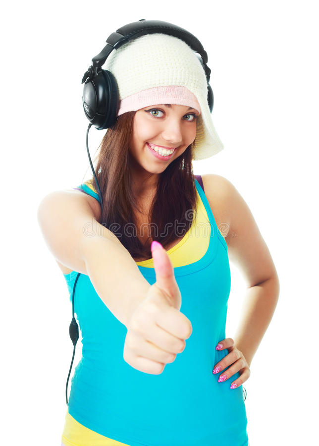 Download Girl With Thumb Up Stock Photos - Image: 13446063